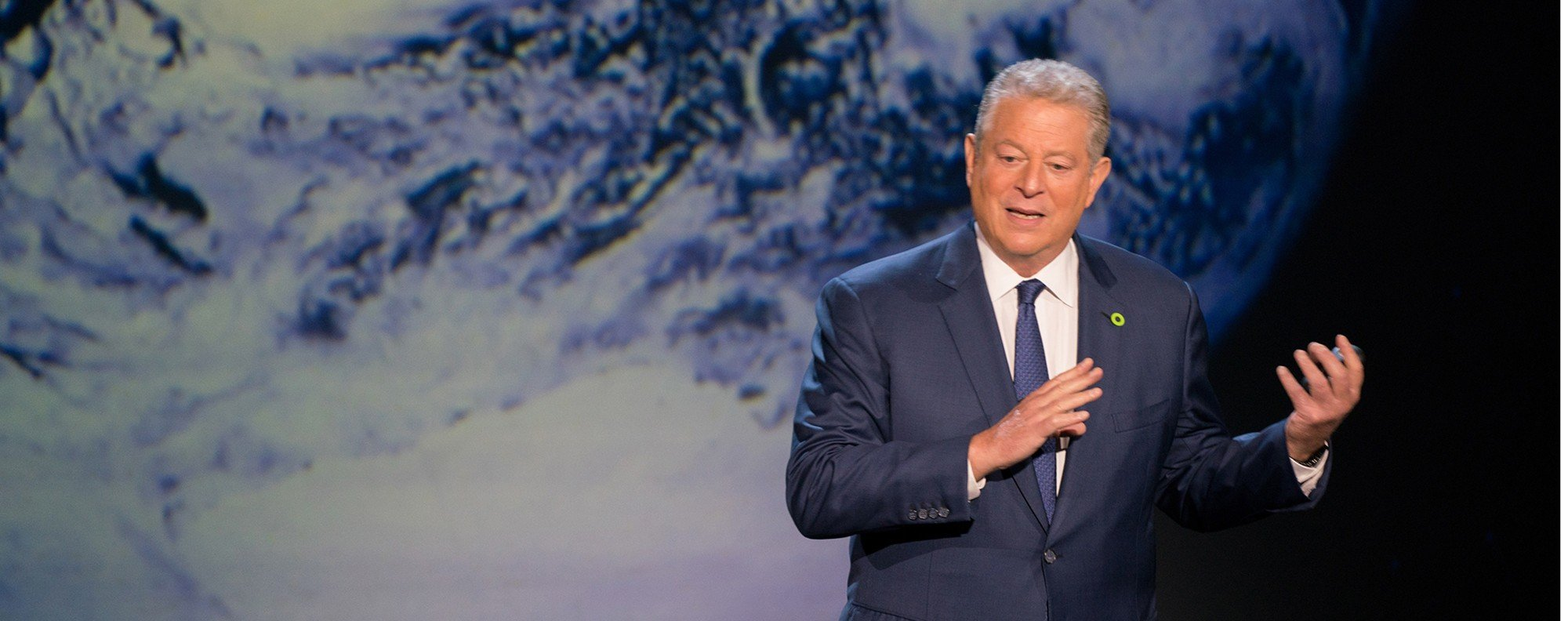 Al Gore presents An Inconvenient Sequel in Houston, Texas.