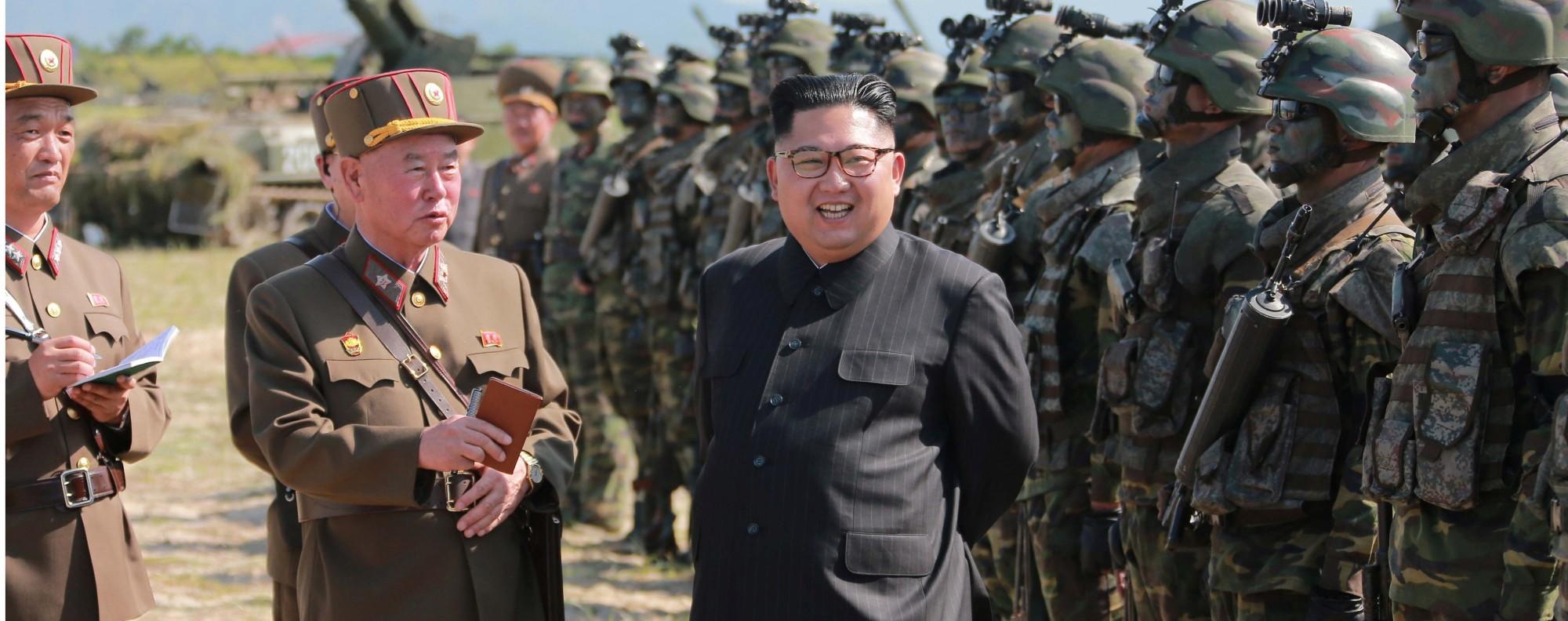 North Korean leader Kim Jong-un. Photo: Reuters