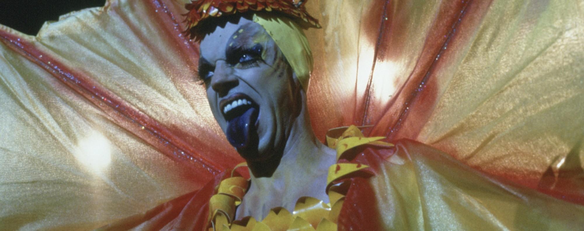 Hugo Weaving as Mitzi Del Bra in Priscilla, Queen of the Desert.