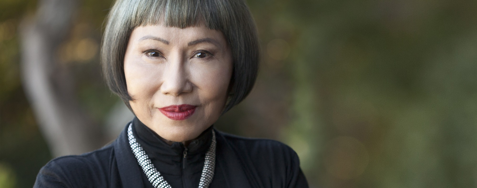 American author Amy Tan.