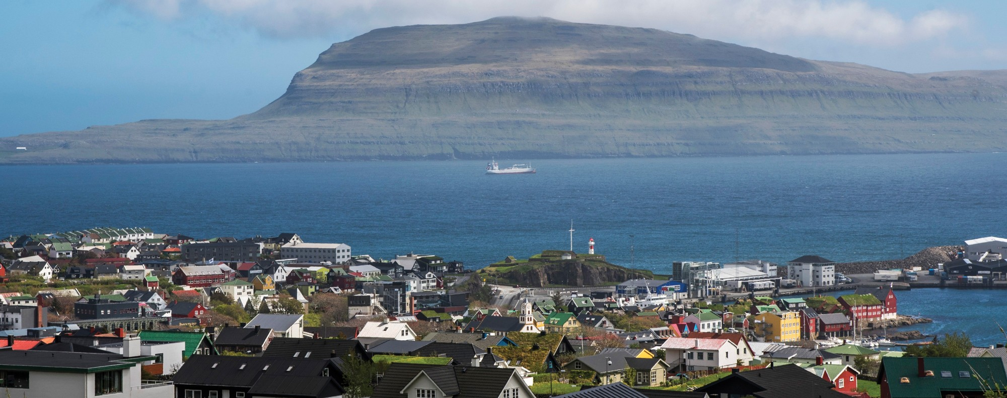 Tórshavn, in the Faroe Islands.