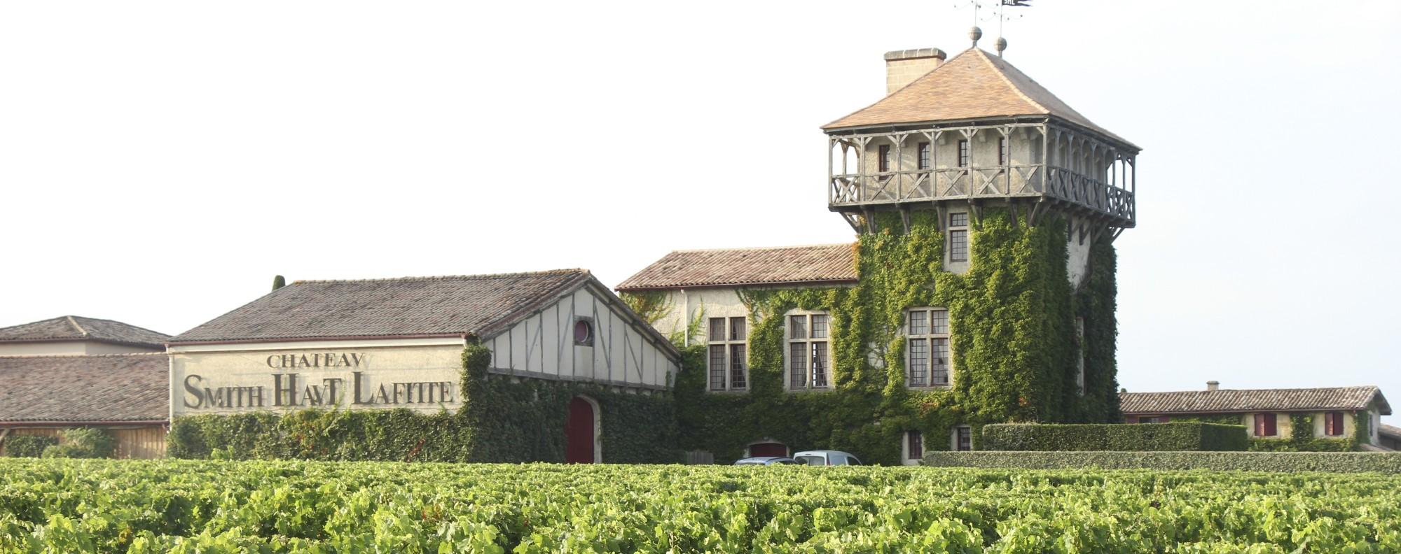 Château Smith Haut Lafitte, in Bordeaux, France.