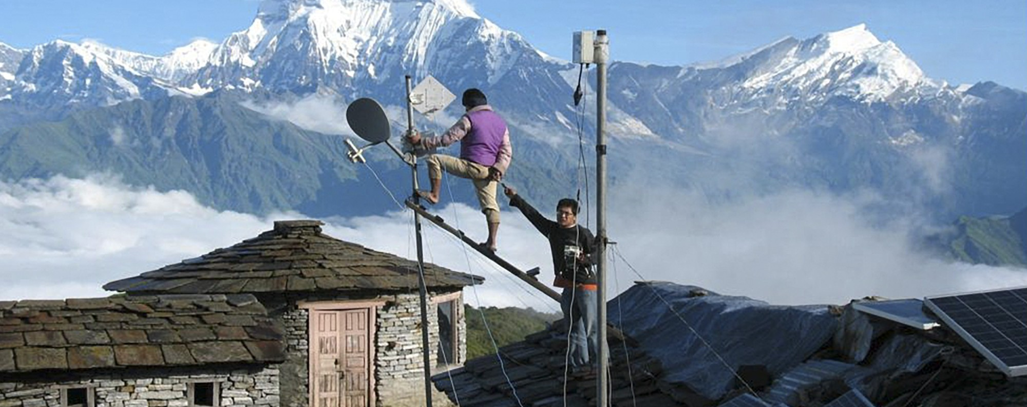 Infrastructure work in Manaslu, Nepal. Photo: Retailnewsasia.com