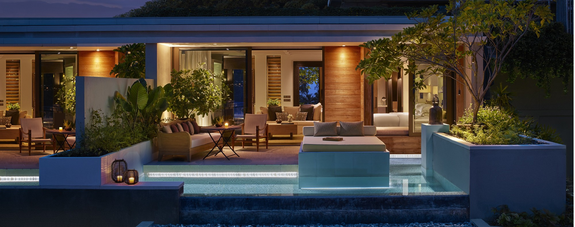 Rosewood Phuket's Oceanview Pool Pavilion.
