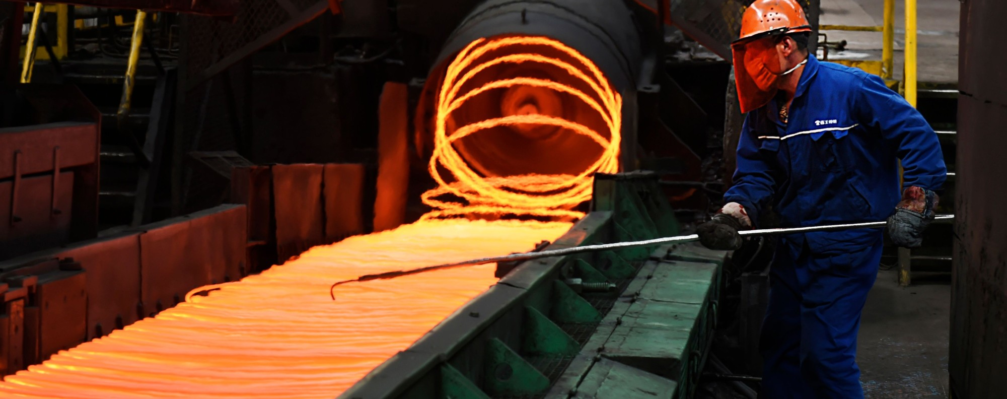A steel plant in Zouping, China. Photo: AFP