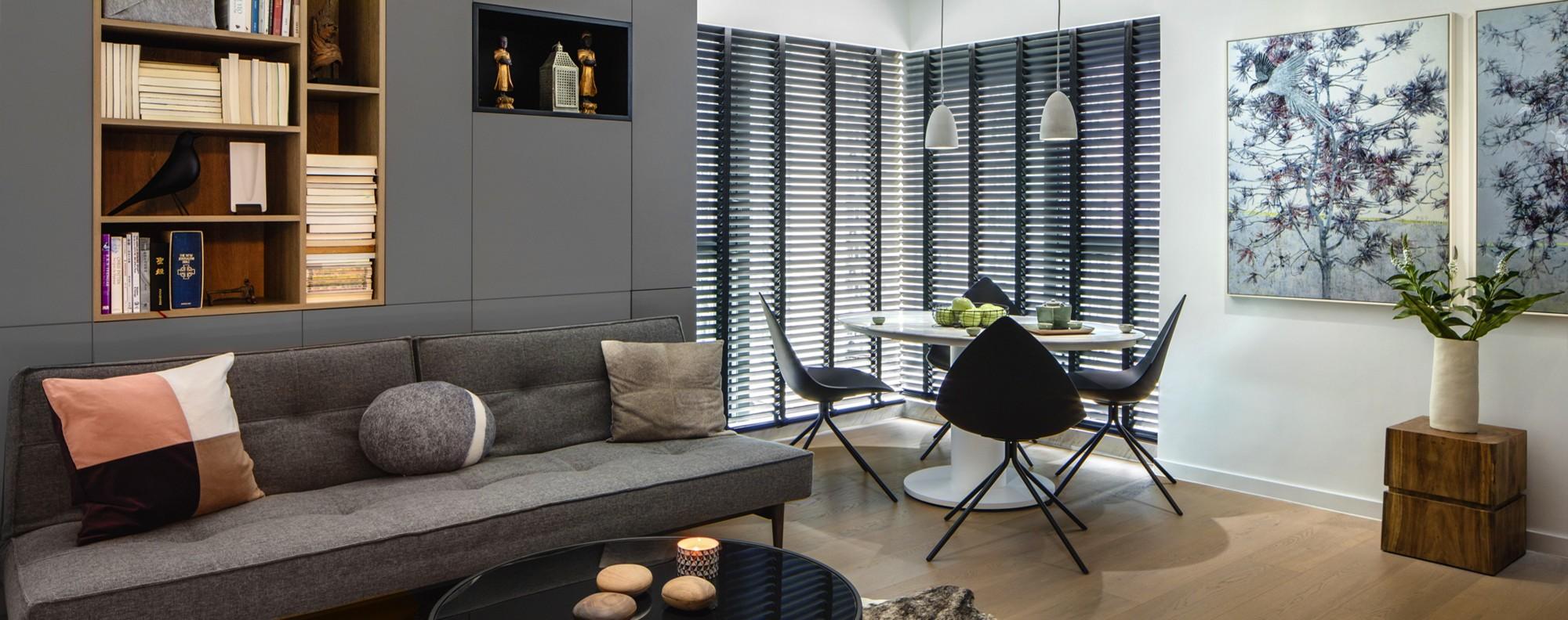 Winnie Chu's Whampoa flat designed by Dylan Tan.