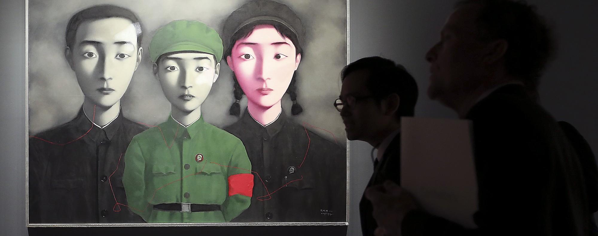 """Zhang Xiaogang's """"Bloodline: Big Family No. 3"""""""
