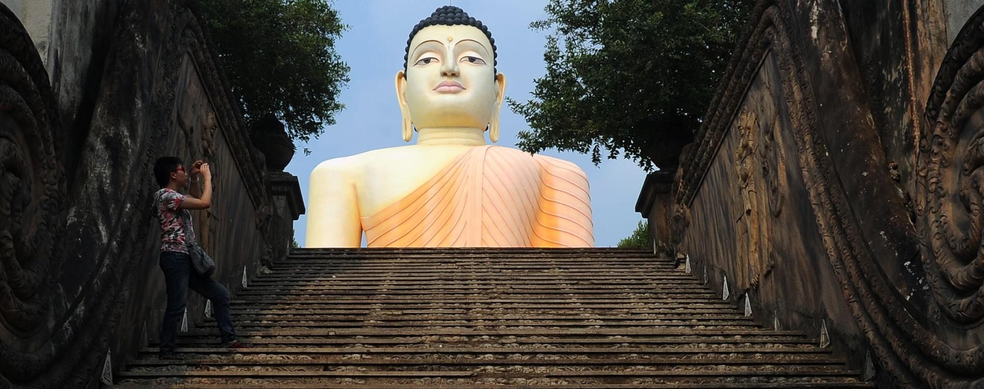 Kande Viharaya Temple in Aluthgama, Sri Lanka. Photo: AFP
