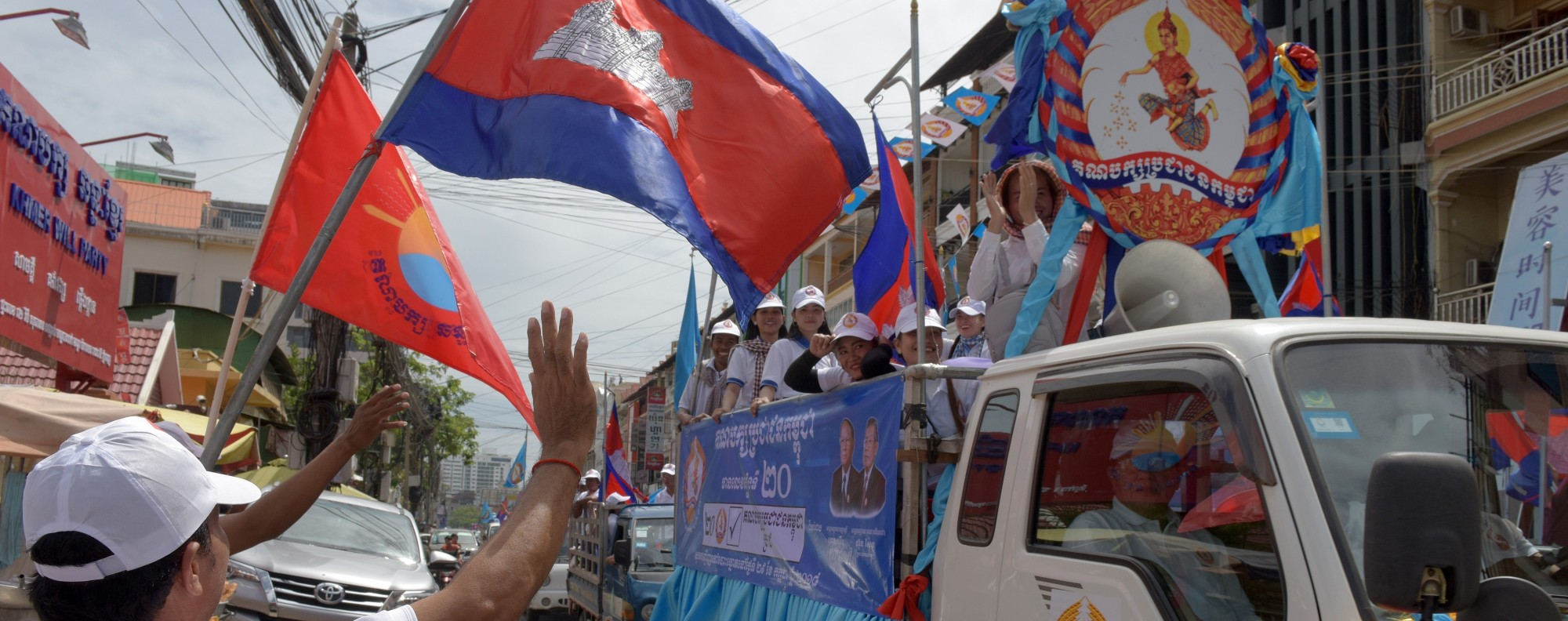 It's election season in Cambodia. Photo: AFP