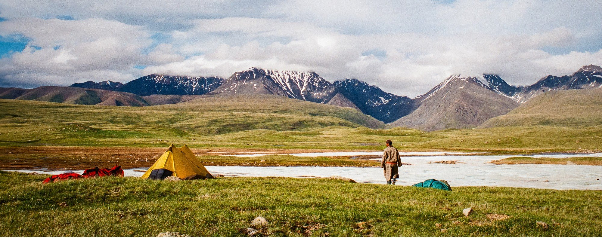 A young nomad in western Mongolia. Picture: Tessa Chan