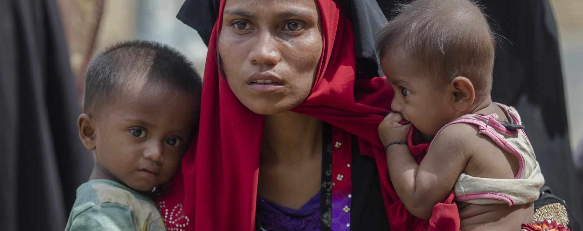 Rohingya refugees. Photo: AP