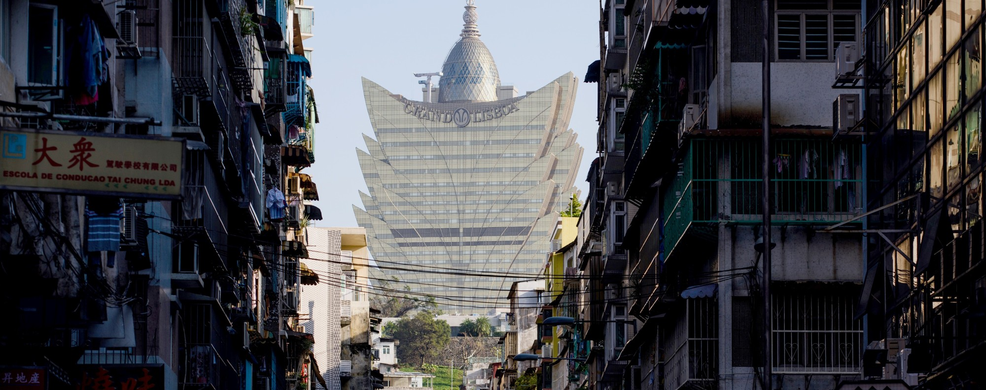 The Grand Lisboa casino in Macau. Photo: AFP