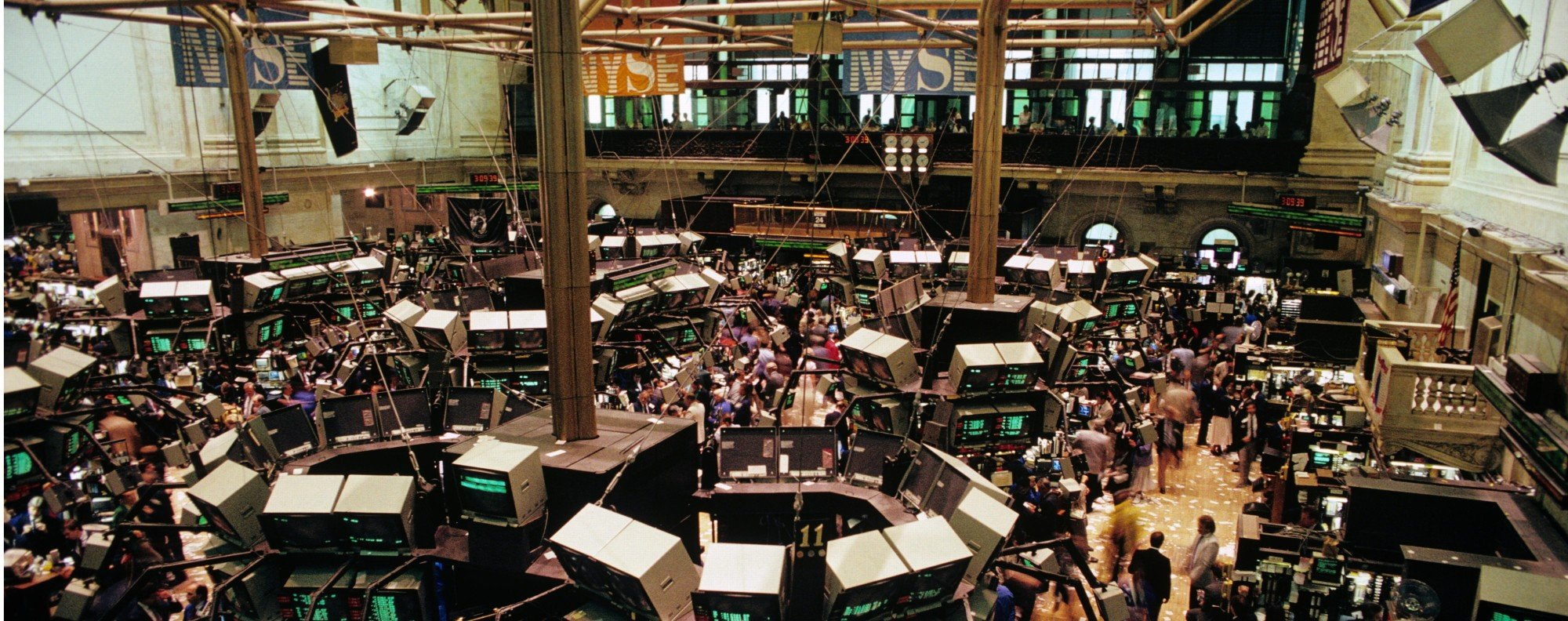 The New York Stock Exchange in the 1980s and early 1990s was rife with insider trading. Picture: Alamy