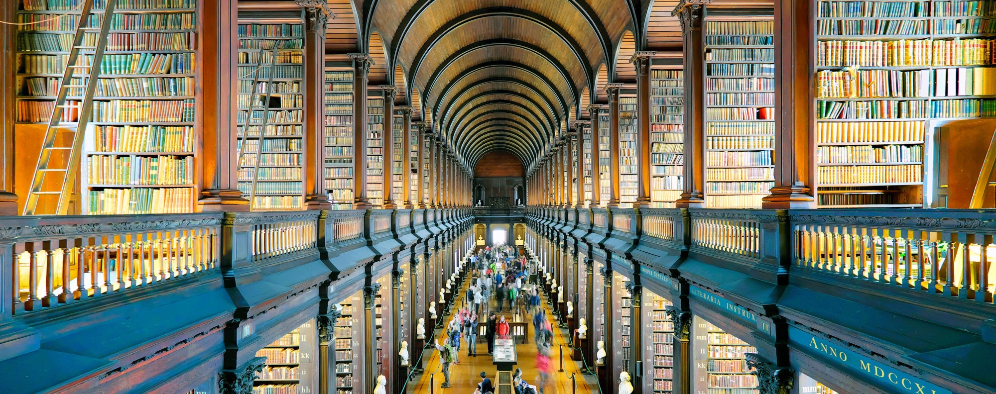 The Old Library in Dublin's Trinity College.