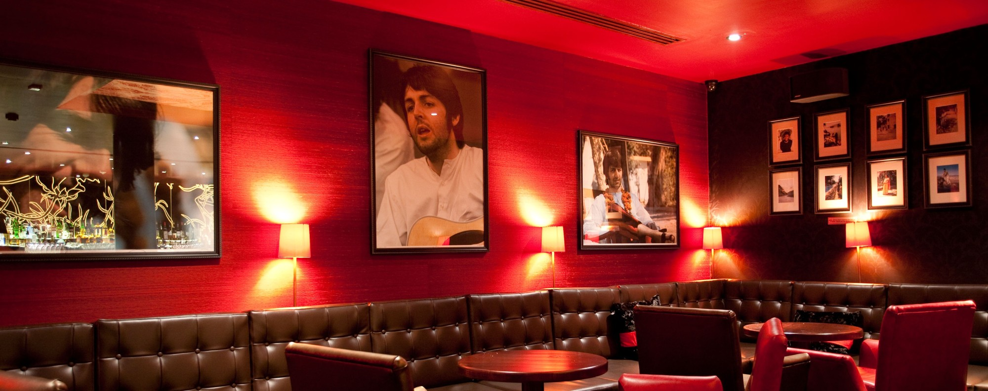 Hari's Bar at the Hard Days Night Hotel, in Liverpool, in Britain. Picture: Alamy