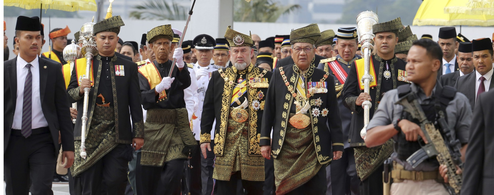 Sultan Muhammad V. Photo: AP