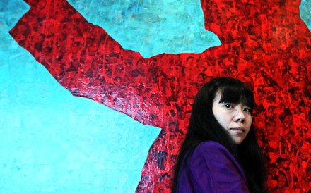 London-based writer Xiaolu Guo tackles questions of identity in her novelI Am China. Photo: Jonathan Wong