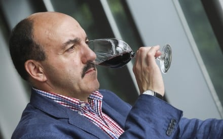 Decanter Asia Wine Awards judge Gerard Basset. Photo: K.Y. Cheng