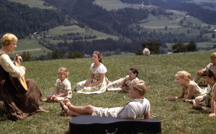 """Let's start at the very beginning,"" Julie Andrews sings in this scene from The Sound of Music. The star thought the musical ""might be a success""."