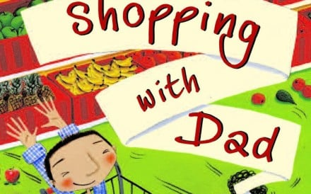 The cover of Shopping with Dad.