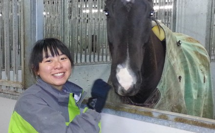 Apprentice Kei Chiong is polishing her skills in New Zealand before starting her Hong Kong career.  Photo: HKJC