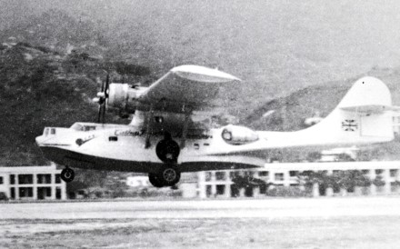 The Catalina VR- HDT left Hong Kong on July 16, 1948. It crashed after an aborted hijacking attempt. Photo: SCMP Pictures
