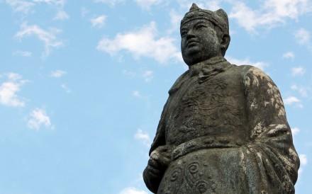 A statue of Koxinga at Anping Fort, Tainan, Taiwan. Photo: Nora Tam