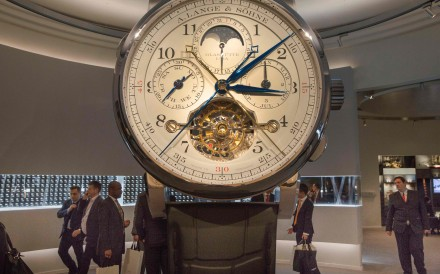 The Salon International de la Haute Horlogerie (SIHH) professional fair in fine watchmaking. Photo: AFP
