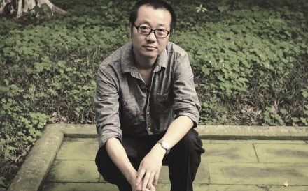 This handout image shows Cixin Liu. [01NOVEMBER2015 THE REVIEW BOOKS LEAD]