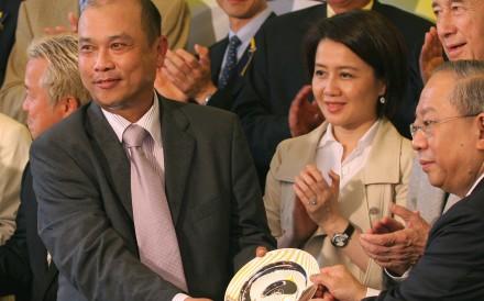 Joe Lau won 2007 Hong Kong Macau Trophy with Crown's Master. Photos: Kenneth Chan