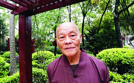 So Sau-chung is now a 75-year-old Buddhist monk. Photo: Jonathan Wong