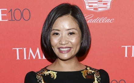 Fashion designer Guo Pei. Photo: AP
