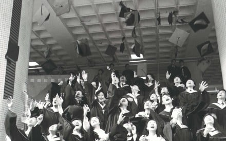 A graduation day at Baptist University. Picture: SCMP