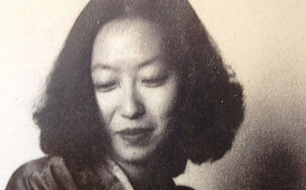 More than 600 pages of the manuscript of the novel Xiao Tuan Yuan, or 'Little Reunion', by author Eileen Chang (above), go on show in Chinese cities from Saturday. Photo: SCMP Pictures