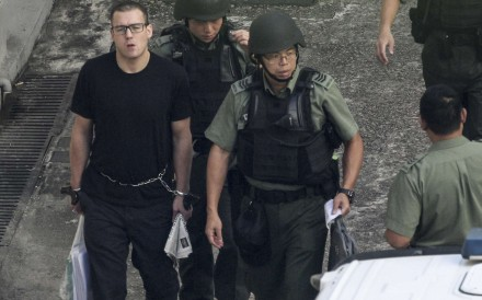 Rurik Jutting at Lai Chi Kok prison. We are unlikely to ever know to what extent brain abnormalities are to blame for his horrific acts. Photo: SCMP Pictures