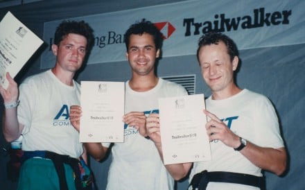 Former Post technology editor Larry Campbell recalls his experience participating in Hong Kong's first long-distance trail race in the early years of the event