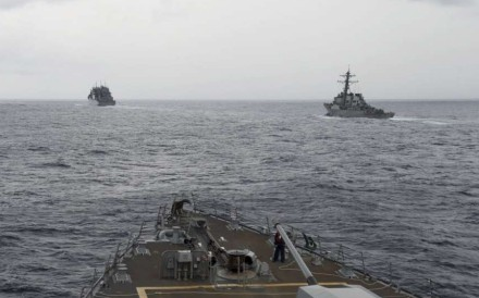 The US has substantially increased its military presence in the Asia-Pacific by raising the frequency, scale and complexity of military exercises, according to a report by a Chinese think tank. Photo: AP