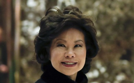 Chao to implement US$1 trillion infrastructure programme Trump wants