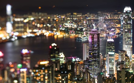A view of Hong Kong taken from Victoria Peak. Photo: Bruce Yan