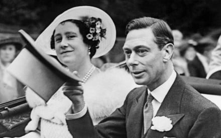 King George VI with his wife, Elizabeth, in London, on June 26, 1938. Picture: AFP