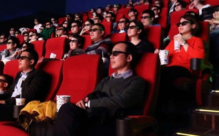 Box office ticket sales in China grew at their slowest pace in 10 years in 2016. Photo: Bloomberg