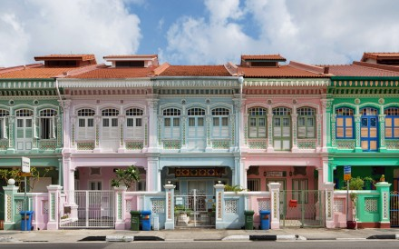 Peranakan shophouses in Singapore's Katong neighbourhood. Photo: Darren Soh/ Singapore Tourism Board.
