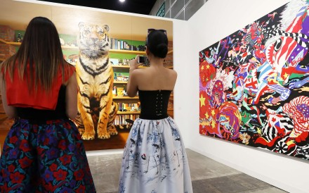 While some of the city's wealthy have a genuine interest in culture, the patronage of others may be a ruse to deflect public anger over Hong Kong's growing wealth gap; either way, the sellers of art win