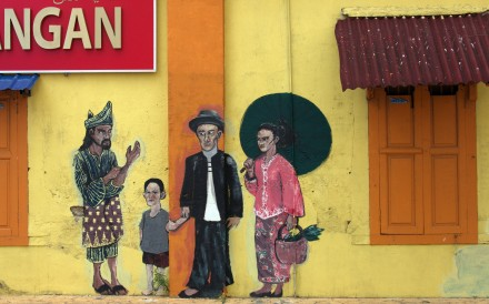 The 'five foot alleys' of the historic Chinatown on Malaysia's east coast, a cultural melting pot for centuries, have been transformed by themed murals celebrating the settlement's history and its great and good