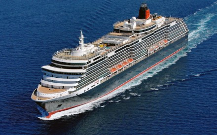 The Queen Victoria passenger liner ship. Italy's state-owned shipbuilder Fincantieri built the new 90,000 ton vessel for Cunard Line, a unit of Carnival Corp. Fincantieri and Carnival are working with China State Shipbuilding Corporation to build China's first luxury cruise ship. Photo: AP