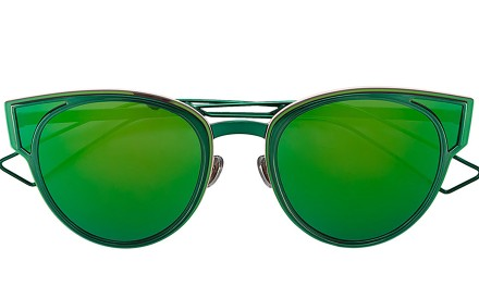 The bright Sculpt sunglasses by Dior, in particular, will make everyone go green with envy