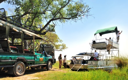 Instead of just being stationed at one site, guests on Ralph Bousfield's mobile camping safari tour are taken to different parts of Botswana. Photos: David De Vleeschauwer