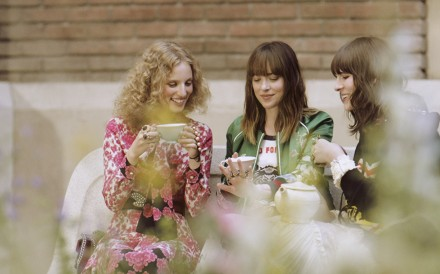 Gucci Bloom campaign with Petra Collins, Dakota Johnson and Hari Nef