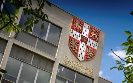 Cambridge University Press was told to pull more than 300 articles from its mainland China online platform. Photo : Handout