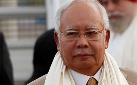 Malaysian Prime Minister Najib Razak. Photo: Reuters